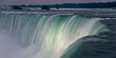 niagara falls is a run of river hdydroelectric system