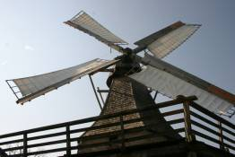 dutch windmill - an old form of wind power