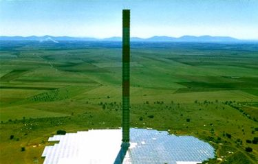 solar chimney picture